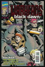 WARHEADS:  BLACK DAWN  US MARVEL VOL1 # 1of2/'93 PAPERPACK PRÄGECOVER