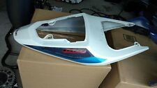 2004 2005 Suzuki GSXR 600 750 OEM Rear Tail Fairing Cow Cover Blue gsx-r CLEAN