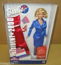 President 2000 Barbie Doll The White House Project Plus Red Dress Toys R US NEW