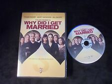 "USED DVD Movies ""Why Did I Get Married""  (G)"
