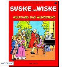 Suske und Wiske 3 Wolfgang MOZART das Wunderkind VANDERSTEEN 1.Aufl  FUNNY COMIC