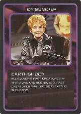 """Doctor Who MMG CCG - Episode """"Earthshock"""" Card"""