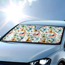 BDK Butterfly Sunshade for Car Windshield Autoshade Foldable Unique Design