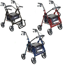 Drive Duet Transport Chair & Rollator / All colors
