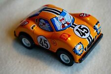 """New VINTAGE Yonezawa Metal Tin Toy Friction Ford Race Car Made in Japan 3"""""""