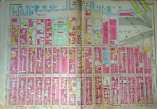 1908 GW BROMLEY LINCOLN SQUARE CLINTON ROOSEVELT HOSPITAL MANHATTAN NY ATLAS MAP