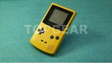 Nintendo Game Boy Color Console Yellow new screen by TOPGEAR.jp