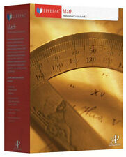 AOP Lifepac Math Complete 12th Grade Set (Trigonometry)