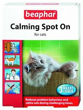 Beaphar Calming Spot On Drops For Cats To Calm And Soothe Cats Of All Ages