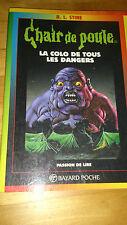 R.L. Stine - Chair de Poule n°42 - La colo de tous les dangers - Bayard (1998)