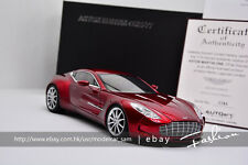 Autoart 1:18 aston Martin ONE-77 (DIAVOLO RED)