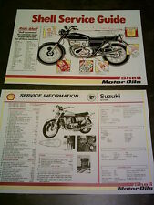 Suzuki GT 750 Water Cooled Triple - Shell Service Sheet