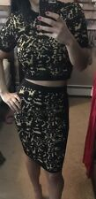 Romeo and Juliet Couture Crop Top And Pencil Skirt Set Size Small NWOT $34.99