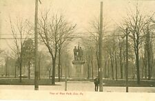 Erie, PA The Soldiers & Sailors Monument in West Park 1908