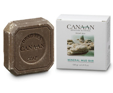 Canaan Dead Sea Mineral Mud Bar-Mineral Enriched Soap