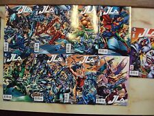 9 JLA JUSTICE LEAGUE 1 SEVEN CONNECTING VARIANTS JOKER AND TEAM COVERS DC COMICS