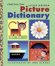 LGB: Little Golden Picture Dictionary ' Golden Books new, free priority post