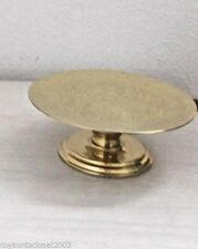 Partylite Brass Savoy 3 Wick Candle Holder NIB