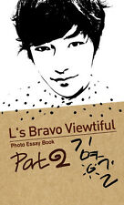 L's Bravo Viewtiful Part2 Photo essay book Korean Idol INFINITE Band Hallyu Star