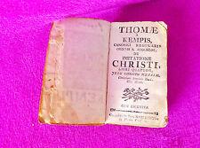 TOMAS DE KEMPIS CANONICI REGULARIS ORDINIS S. AUGUSTINI, IMITATIONE CHRISTI 1762
