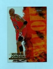 Chicago Bulls Michael Jordan 1996/97 Fleer Skybox NBA Hoops Hot List #8