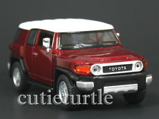 Kinsmart Toyota FJ Cruiser SUV 1:36 Diecast Toy Car Red