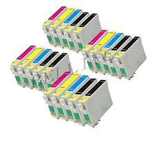 20 CARTUCCE PER EPSON T0321 T0422 T0423 T0424 Stylus C82 CX5200 CX5400 C82N