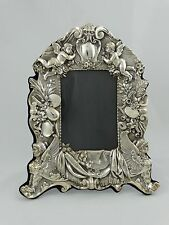 Large Egyptian Revival Style Sterling SIlver Picture Frame