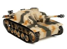 1:16 Taigen Sturmgeschutz III RC Tank 2.4GHz Smoke & Sound Metal Gear New