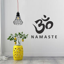 Namaste Buddha Yoga OM Studio Peace Love Decor Wall Art Vinyl Decal Sticker