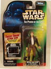 Star Wars POTF Power Of The Force 2 Freeze Frame - Bespin Han Solo Blaster (MOC)
