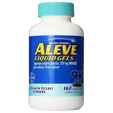 Aleve Liquid Gels Naproxen Sodium 220mg, 160 Liquid Gels Pain & Fever Reducer