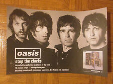 Oasis Stop The Clocks Rare Awesome Group Poster