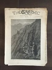 """""""THE GRAPHIC"""" (A Beautifully Illustrated British Weekly Newspaper)-Dec. 8 1894"""