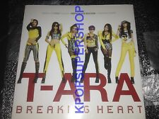 T-ara Vol. 1 Breaking Heart Repackage First Press Limited CD Great 56p Photobook