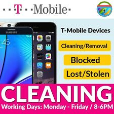 T-Mobile Bad IMEI / ESN Blacklist Removal Cleaning Service iPhone Android Nexus