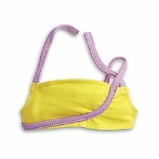 American Girl Isabelle PRACTICE TOP retired F7396-BF1A yellow NIB
