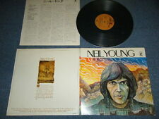 NEIL YOUNG Japan 1971NM LP NEIL YOUNG Debut Album 1st Press Relaese 2000YEN Mark