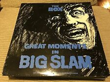 """THE BOX - GREAT MOMENTS IN BIG SLAM 12"""" LP UK CHRYSALIS 84 - SYNTH WAVE"""