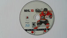 NHL 10 (Sony PlayStation 3, 2009) disk only ps3