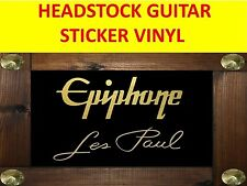 EPIPHON LES PAUL GOLD STICKER HEADSTOCK VISIT OUR STORE WITH MANY MORE MODELS !!