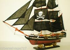 "Custom Pirate Ship Sailing Vessel Wooden Sailboat Model Boat 30"" Brigantine NEW"