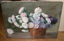 Stillleben mit Blumen. Ca. 1910-20. Nicht signiert.