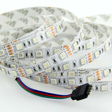 New 5m 500cm 5050 RGB 300SMD Flexible LED Strip Light Lamp DC 12V