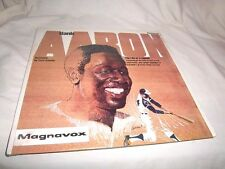 HANK AARON-THE LIFE OF A LEGEND-CURT GOWDY FLEETWOOD FCLP 3081 NEW SEALED LP