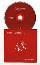 Cd PROMO BIAGIO ANTONACCI Ritorno ad amare - cds cd singolo single 2001