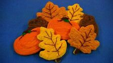 HOME MADE ICED   FALL MIXED  SUGAR COOKIES by NEEDFULL THINGS