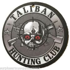 CAR AIR FRESHENER BESPOKE DESIGNED TALIBAN HUNTING CLUB INFIDEL ARMY AFGHAN