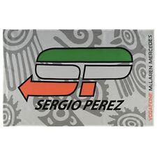 Nuevo Sergio Perez Mclaren Mercedes F1 Fórmula Uno Bandera 130 X 100cm