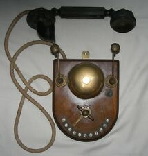RARE 1916 ANTIQUE W.E. CO. WESTERN ELECTRIC? WALL INTER PHONE TELEPHONE INTERCOM
